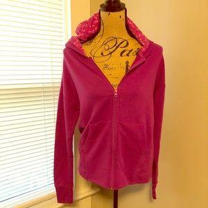 Vera Bradley zip-up sweatshirt